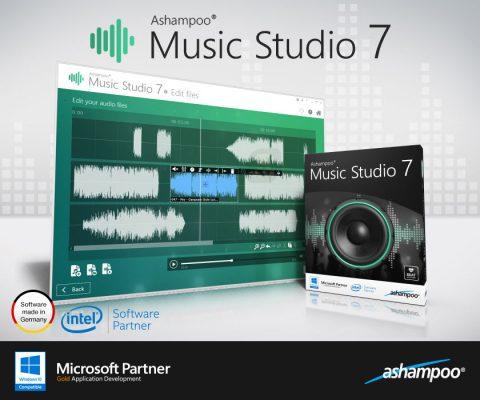 دانلود Ashampoo Music Studio 2019 1.7.0 - ویرایش و تولید موسیقی