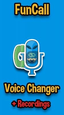 نرم افزار تغییر صدا هنگام مکالمه موبایل اندروید Funcall - In Call Voice Changer 4.0.9