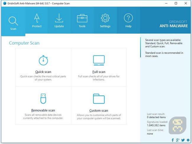 GridinSoft Anti-Malware 4.1.8.300 - Anti-Spyware And Malware