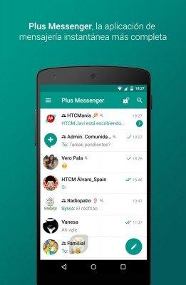 دانلود مسنجر Plus Messenger (Telegram+) v5.15.0.1 - تلگرام پلاس اندروید