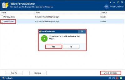 دانلود Wise Force Deleter 1.5.3.54 - حذف فایل های غیر قابل حذف