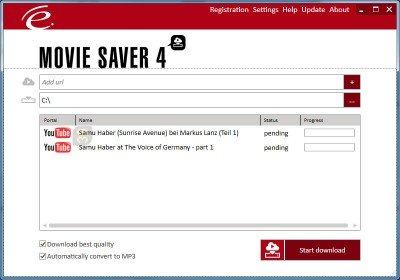 دانلود Engelmann Media MovieSaver 4.0.5906 - دانلود ویدیوهای آنلاین