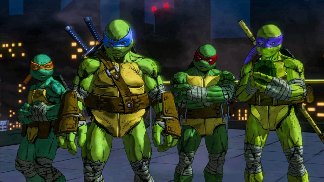 PC Games Teenage Mutant Ninja Turtles Mutants In Manhattan