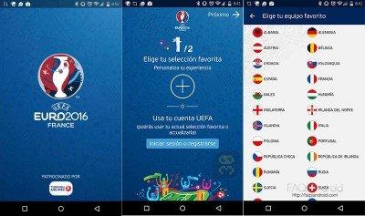 دانلود UEFA EURO 2016 Official App 2.1.0 - اپلیکیشن رسمی یورو 2016 اندروید