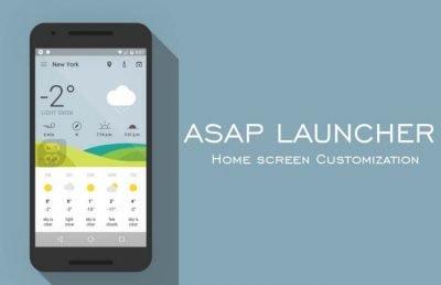دانلود ASAP Launcher Prime 1.28.0 - لانچر سریع اندروید