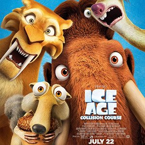 دانلود انیمیشن عصر یخبندان Ice Age Collision Course 2016 + زیرنویس فارسی