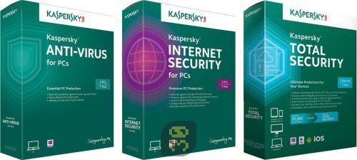 دانلود آنتی ویروس کسپرسکی Kaspersky Anti-Virus / Internet / Total Security 2017 18.0.0.405