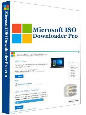 دانلود Microsoft ISO Downloader Pro 2020 2.4 - نرم افزار دانلود ایمیج های ویندوز