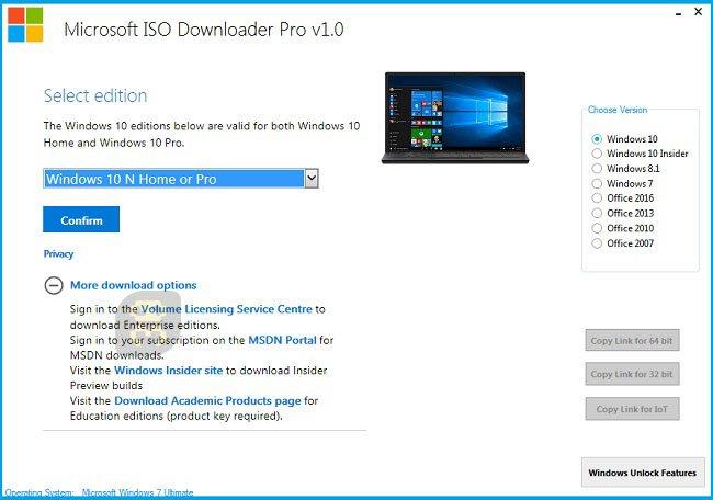 download iso windows 10 pro 2018