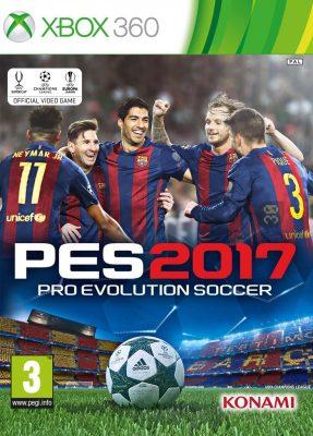 دانلود بازی Pro Evolution Soccer 2017 برای XBOX360