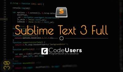 دانلود Sublime Text 3.2.1 B3207 - ویرایش پیشرفته متن و کد برنامه نویسی