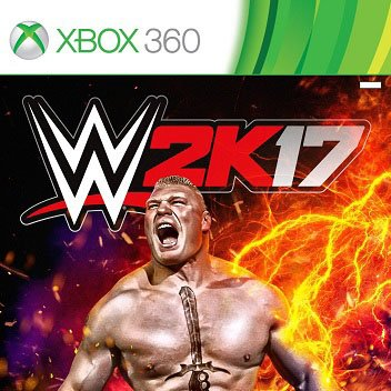 WWE 2K17 Games For XBOX360