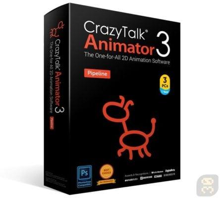 دانلود Reallusion CrazyTalk Animator 3.31.3514.2 Pipeline - ساخت چهره متحرک