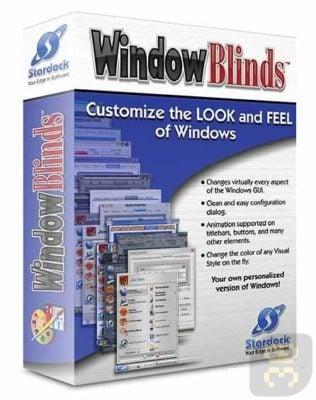 دانلود WindowBlinds 10.82 - تغییر رابط کاربری ویندوز