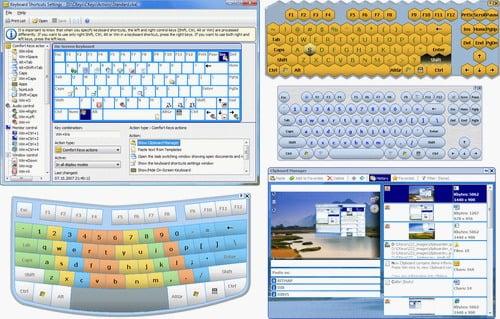 دانلود Comfort Keys Pro 9.1.1.0 - ایجاد کلید میانبر برای هر دستور