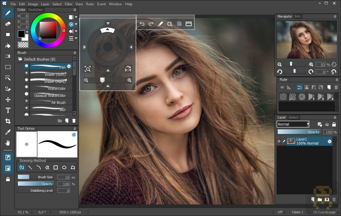OpenCanvas 7 0 24 - Powerful Drawing Tool A2Z P30 Download