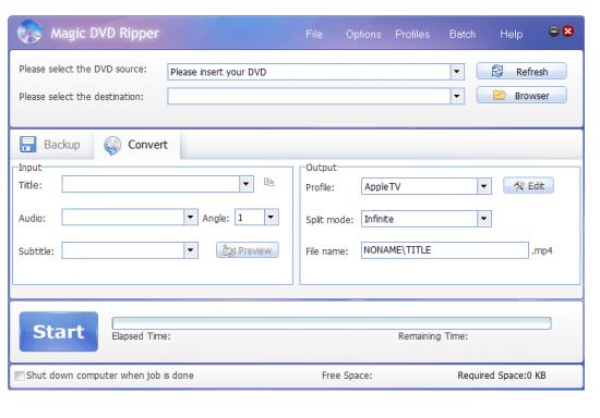 دانلود Magic DVD Ripper 10.0.1 - ریپ کردن سریع دی وی دی