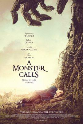 دانلود فیلم A Monster Calls 2016 - تماس با هیولا + زیرنویس فارسی
