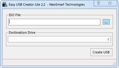 دانلود Easy USB Creator Lite 2.3.1.43 - تبدیل فلش مموری به دیسک بوت