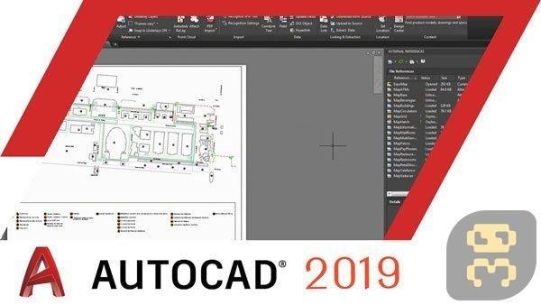 دانلود اتوکد Autodesk AutoCAD 2019.1 + LT + کرک