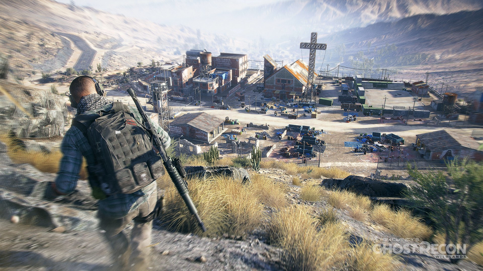 Tom Clancys Ghost Recon Wildlands Game For PS4 + Update