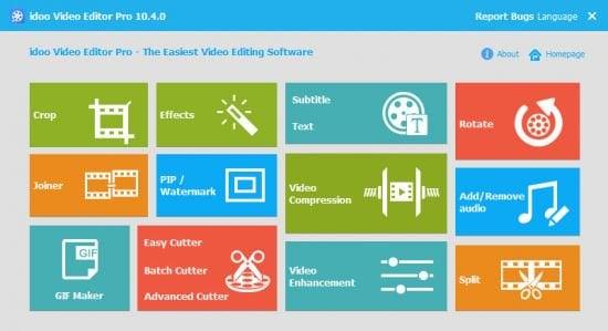 دانلود idoo Video Editor Pro v10.4.0 - ویرایشگر آسان ویدئوها