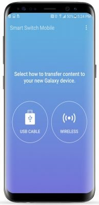 انتقال فایل ها به گوشی های سامسونگ Samsung Smart Switch v3.4.03-5