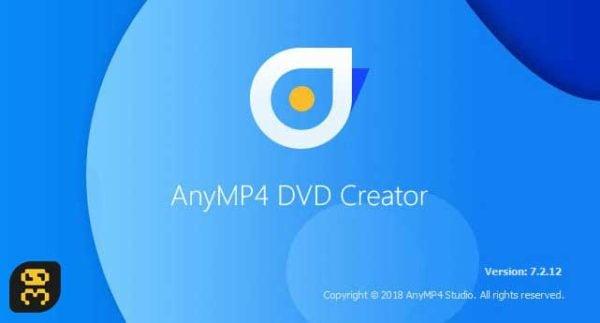دانلود AnyMP4 DVD Creator 7.2.32 - ساخت سریع منو دیسک های DVD