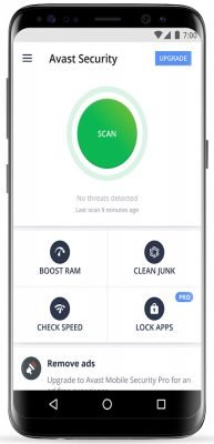 دانلود Avast Mobile Security & Antivirus 6.18.1 - آنتی ویروس رایگان اندروید