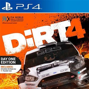 Play DiRT 4 For PS4 + Hacked Edition