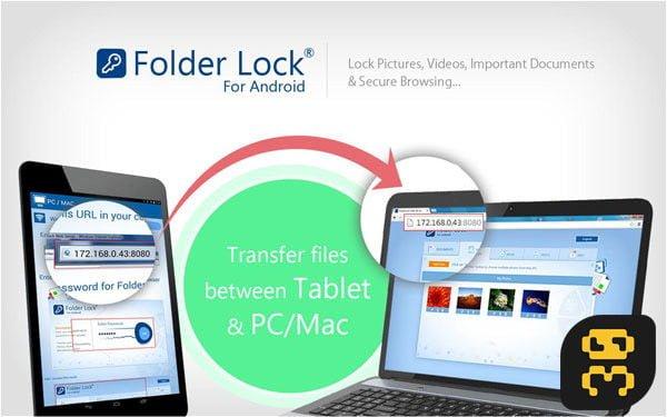 دانلود Folder Lock Pro 2.3.9 - رمزگذاری مموری کارت حافظه SD اندروید
