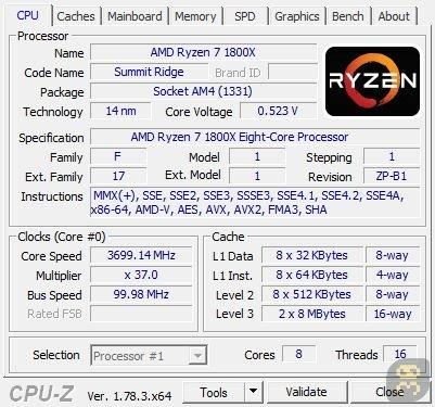 دانلود CPU-Z v1.90.1 - نمایش اطلاعات سخت افزار کامپیوتر ویندوز