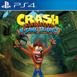 Crash Bandicoot N. Sane Trilogy For PS4 + Hacked Version