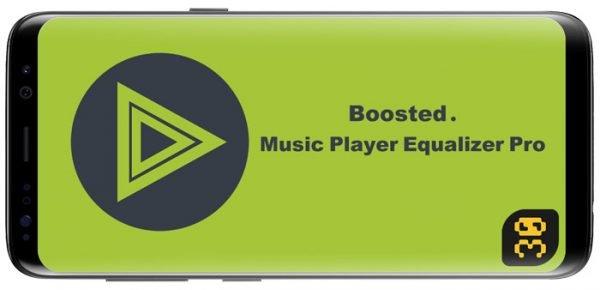 دانلود Boosted Music Player Equalizer Pro v4.5 b21 - پخش کننده موسیقی اندروید