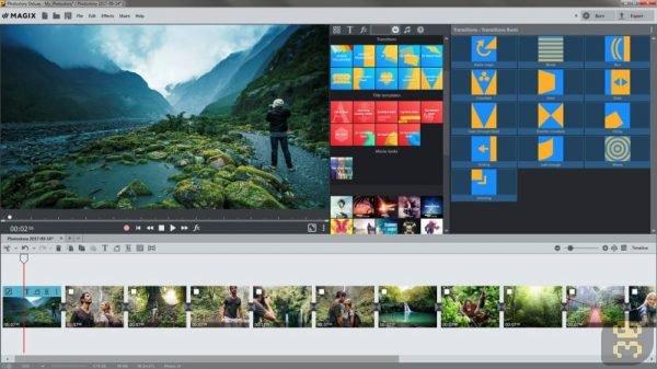 دانلود MAGIX Photostory 2019 Deluxe 18.1.2.34 - برنامه ساخت اسلاید شو