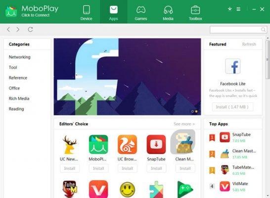 دانلود موبوپلی MoboPlay 3.0.0.291 - مدیریت گوشی اندروید و iOS در ویندوز