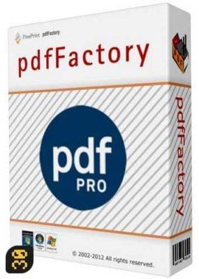 دانلود pdfFactory Pro 7.17 – ساخت اسناد مختلف PDF