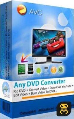 دانلودAny DVD Converter Professional 6.2.9 - تبدیل دیسک های DVD