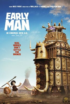 دانلود انیمیشن Early Man 2018 انسان اولیه