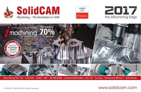 دانلود SolidCAM 2017 SP1 HF3 - جدیدترین نسخه سالیدکم