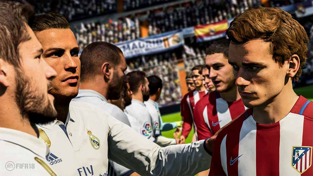 Games Of FIFA 18 For The PS4 - FIFA ۱۸