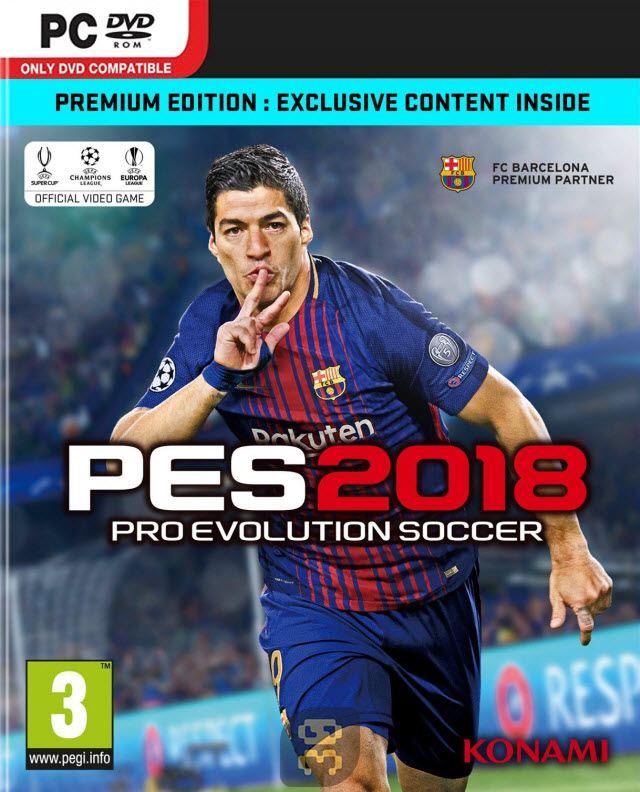 دانلود بازی کامپیوتر Pro Evolution Soccer 2018