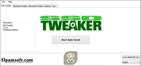دانلود SSD Tweaker Pro 4.0.1 - افزایش سرعت و کارایی هارد اس اس دی