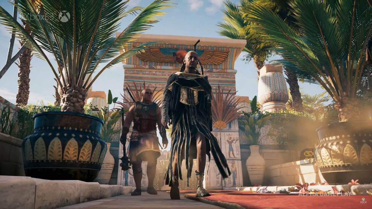 Computer Games Assassins Creed Origins The Curse Of The Pharaohs + ​​Crack