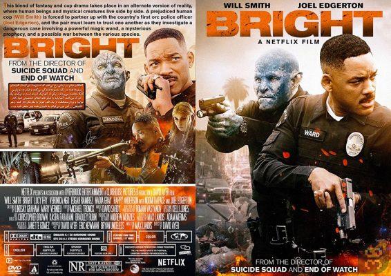 دانلود فیلم Bright 2017 + زیرنویس فارسی