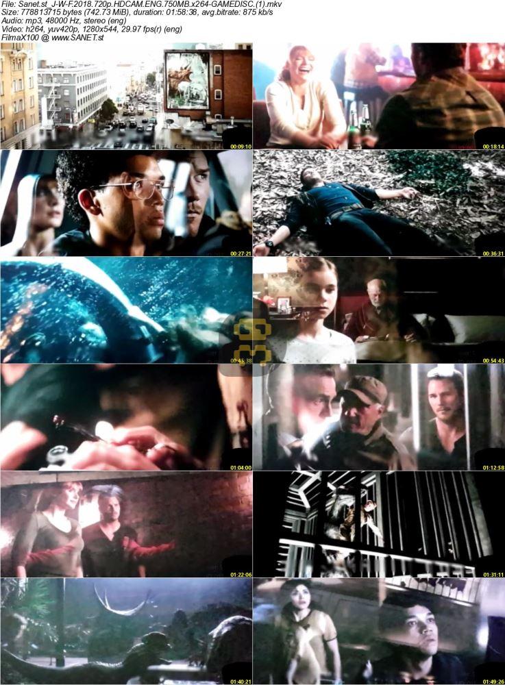 Jurassic World Fallen Kingdom 2018 With Direct Link + Subtitle Persian
