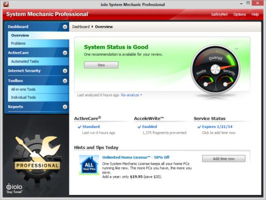 دانلود System Mechanic Pro 18.7.2.134 - نرم افزار سیستم مکانیک