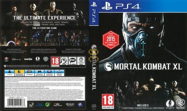 دانلود نسخه هک شده بازی Mortal Kombat XL برای PS4