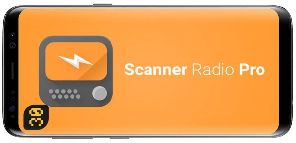 دانلود Scanner Radio Pro v6.9.7 برنامه صدای بی سیم پلیس و آتش نشانی اندروید