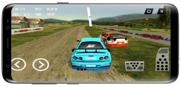 دانلود بازی سوپر رالی اندروید Super Rally 3D v3.2.4